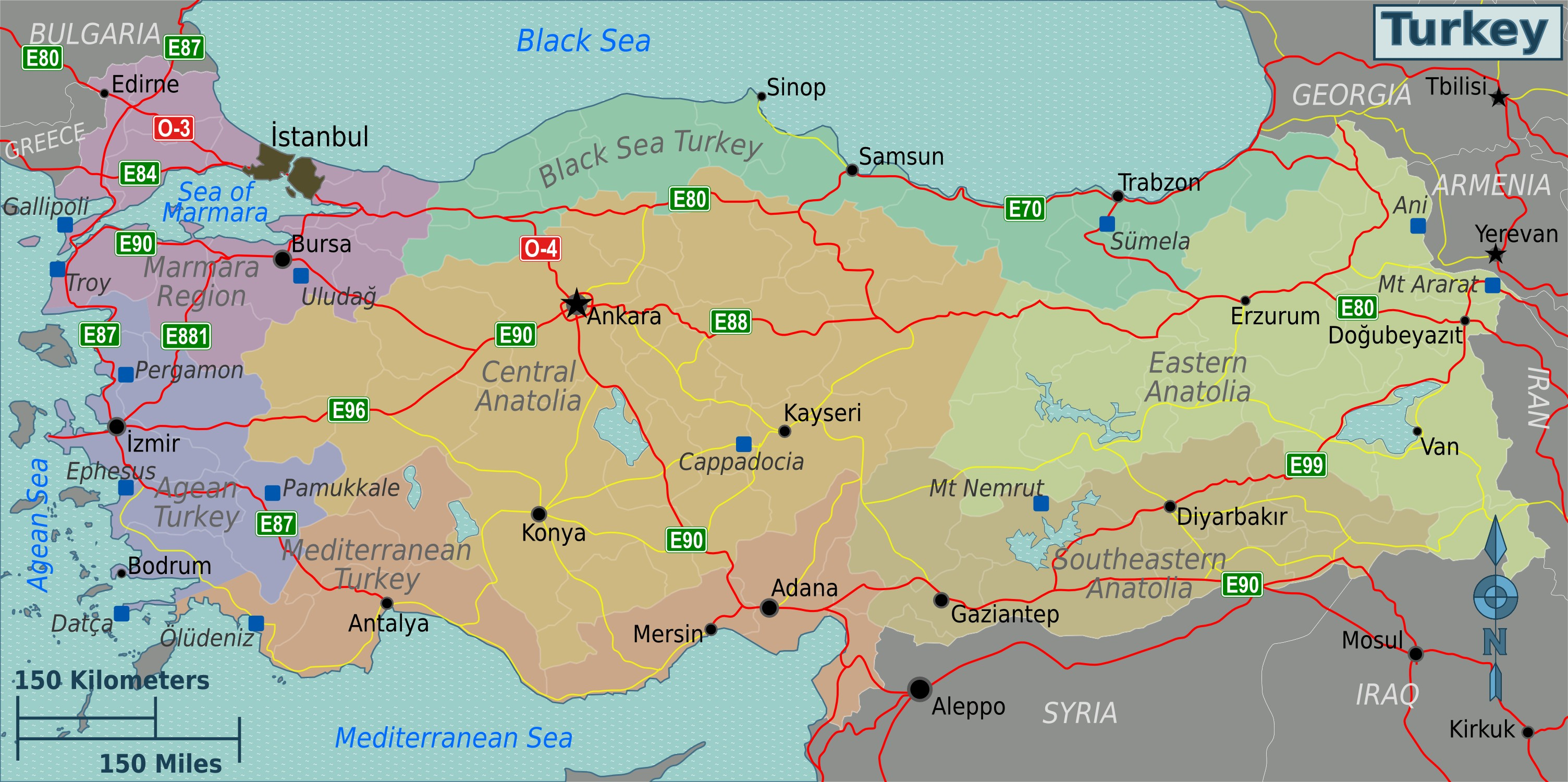 Karte Türkei Kappadokien.Kappadokien Türkei Karte Hanzeontwerpfabriek