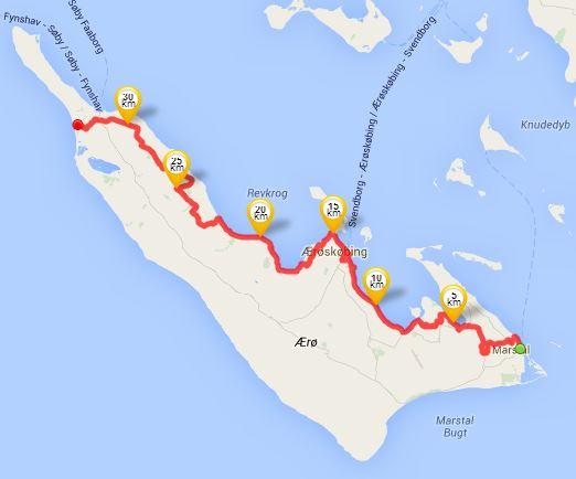 36-km-Wanderung am 30.05.2014
