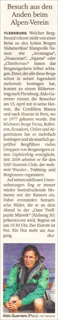2016-03-23 Aldo im FL_Tageblatt