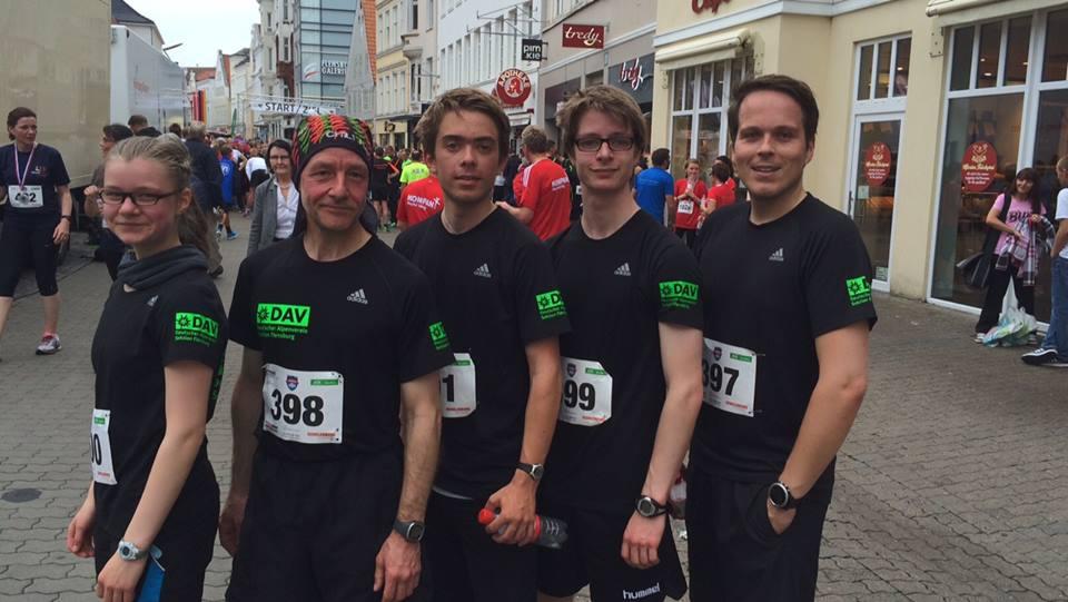 Unser Team: Ida, Stefan, Mats, Linus, Torben